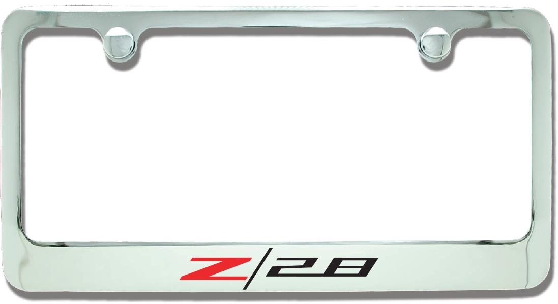 Camaro Z28 License Plate Frame-ChevyMall