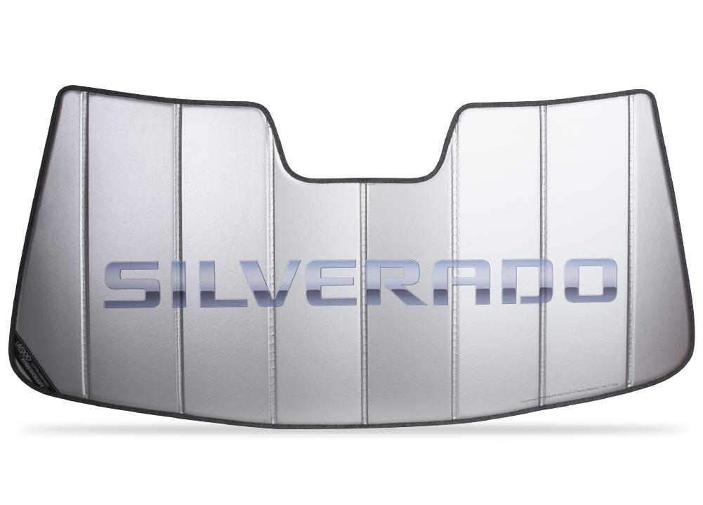 2007 2013 Silverado Script Insulated Sunshade Chevymall