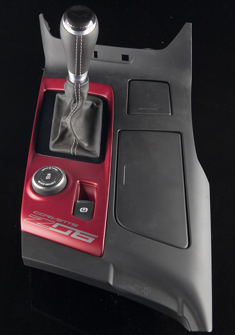 c7 corvette center console replacement color matched