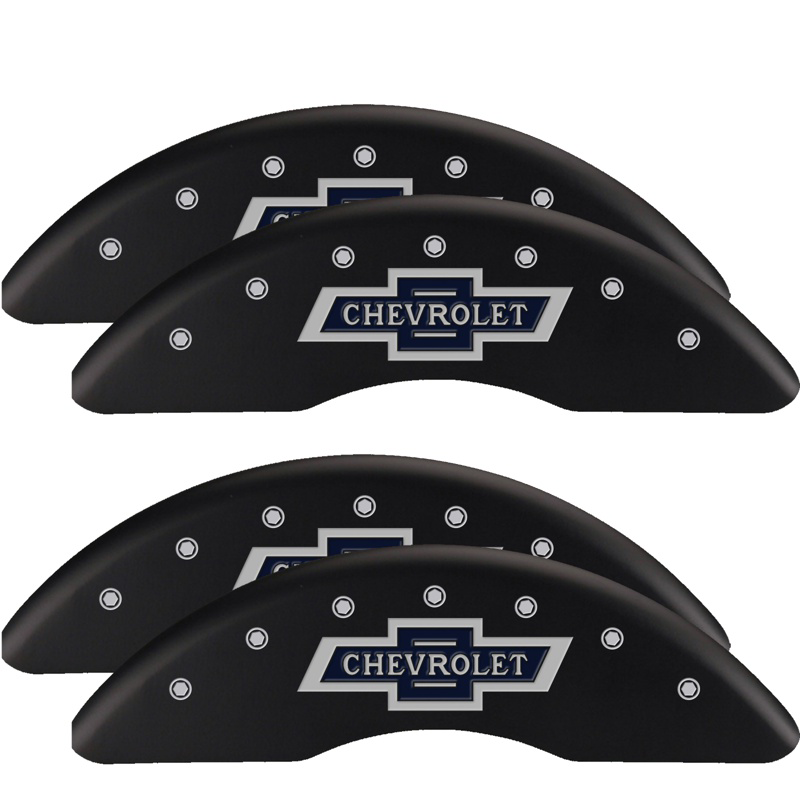 2011 - 2019 Silverado 2500HD 100 Years Caliper Covers (Red ...