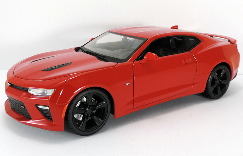 Camaro SIX SS Red 118 Scale Die Cast ChevyMall