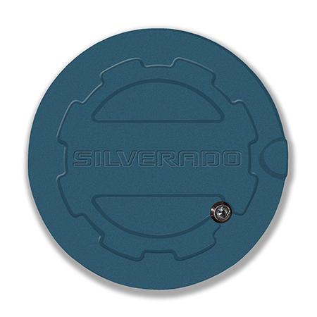 2014 - 2018 Silverado Locking Fuel Door (Choose Color ...