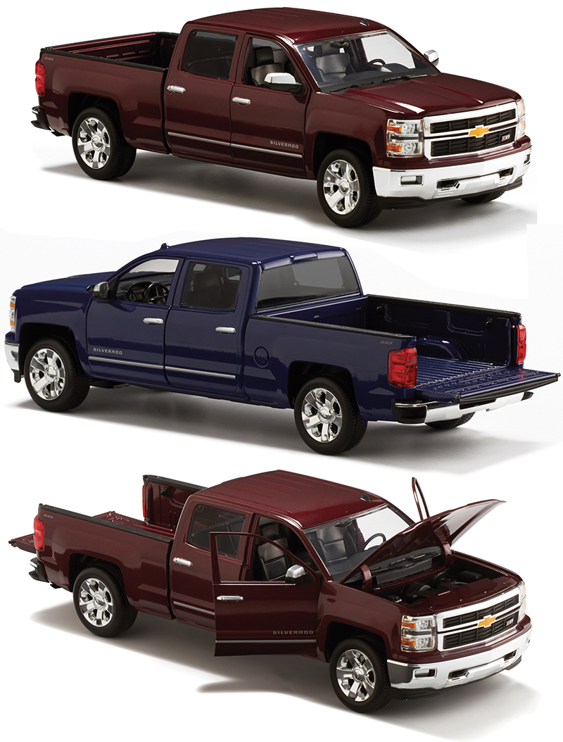 Toy Model Trucks : Chevy silverado toy truck scale diecast trucks