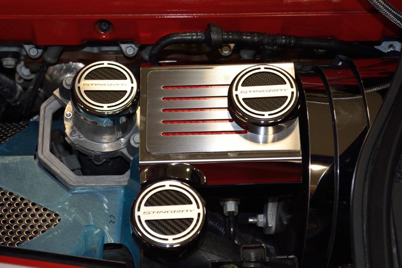 C7 Corvette Manual Fluid Cap Covers - Choose Color-ChevyMall