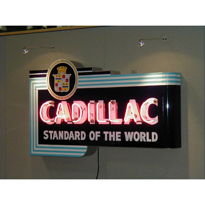 Cadillac Sign | Chevrolet Neon Sign | Vintage Chevy Sign ...