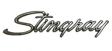C3 Corvette Stingray Emblem Metal Sign