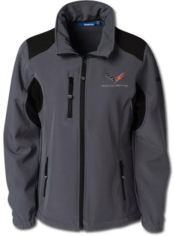 reebok jacket. c7 corvette ladies reebok jacket