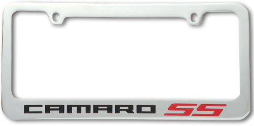 Camaro SS License Plate Frame-ChevyMall