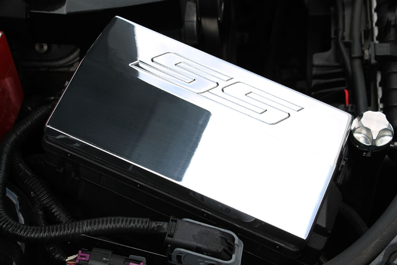 2010 - 2015 camaro ss billet fusebox cover - choose finish