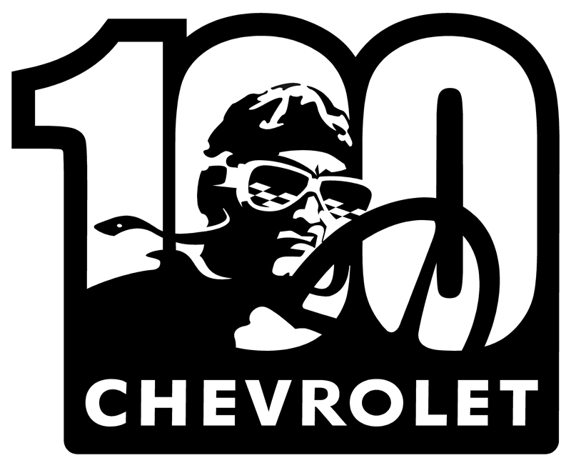 Chevy Racing Centennial Sign-ChevyMall