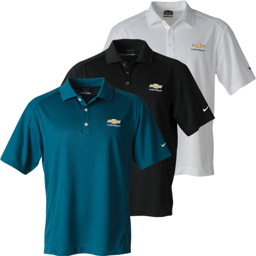 54ddc0fbd Chevrolet Mens Nike Classic Dri-Fit Polo