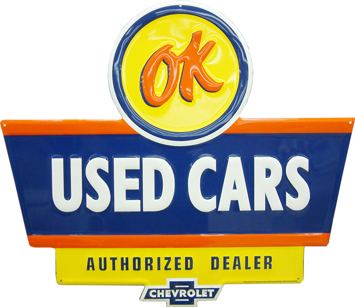 Chevrolet OK Used Cars Sign-ChevyMall