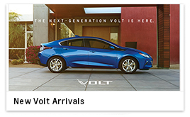 New Volt Arrivals