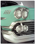 Chevrolet Bel Air 1958 Hardtop Art Poster