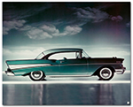 Chevrolet Bel Air 1957 Sport Coupe Art Poster