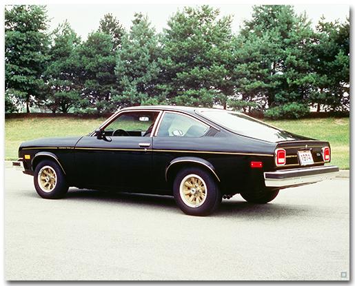 Chevrolet 1975 Cosworth Vega Hatchback Art Poster-ChevyMall