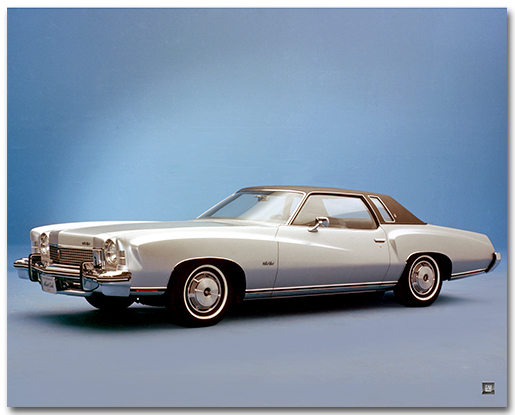 Chevrolet 1973 Monte Carlo Coupe Art Poster-ChevyMall