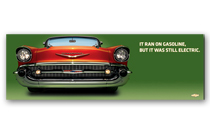 Bel Air Art Poster - It ran on gasoline but...
