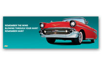 Bel Air Art Poster - Remember the wind...