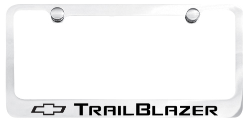 trailblazer license plate frame