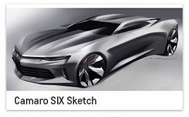 Camaro SIX Sketch