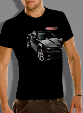 camaro ss t shirt chevymall. Black Bedroom Furniture Sets. Home Design Ideas