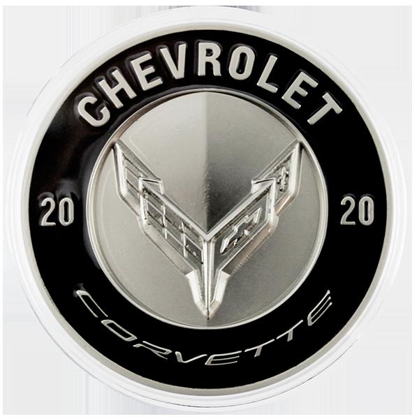 2020 C8 Corvette Commemorative Coin-ChevyMall