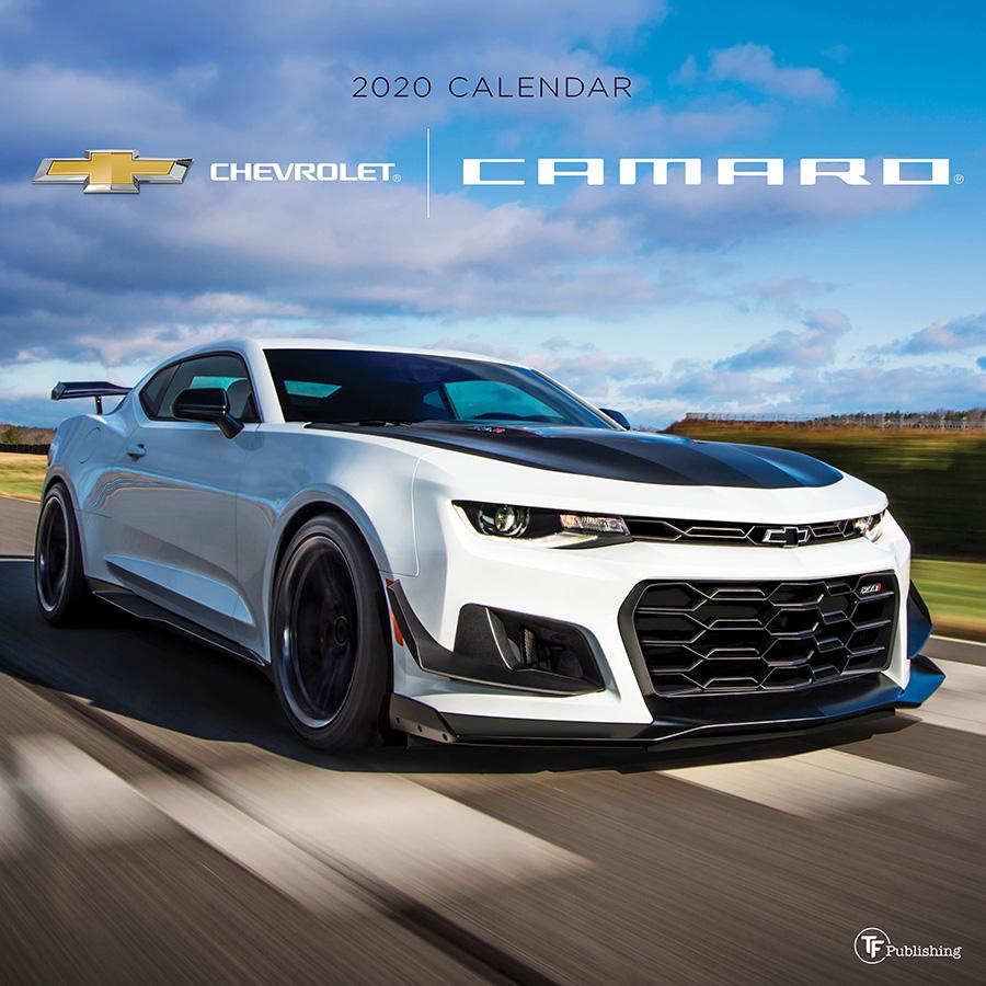 Colorado Car Shows Calendar: 2020 Camaro Wall Calendar-ChevyMall
