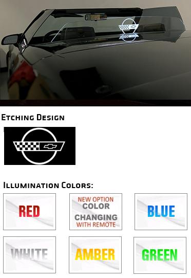 C4 Corvette WindRestrictor | Corvette Deflector Wind Blocker