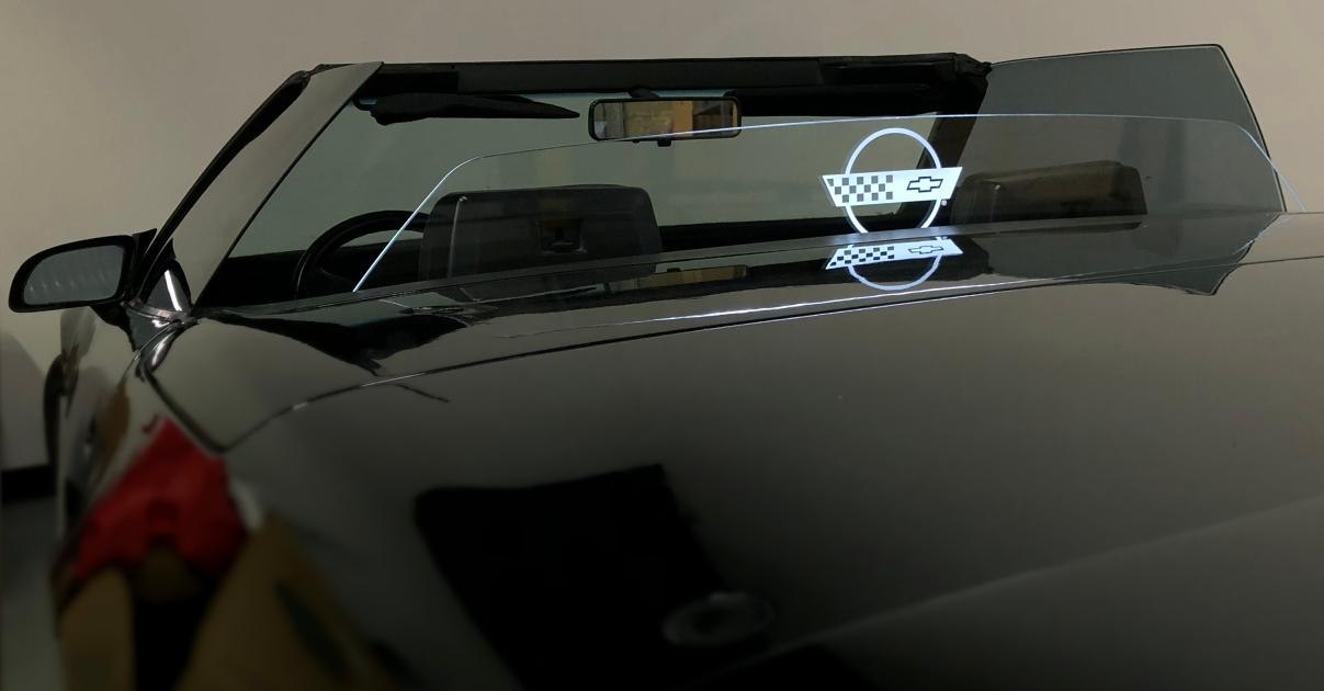 C4 Corvette WindRestrictor   Corvette Deflector Wind ...