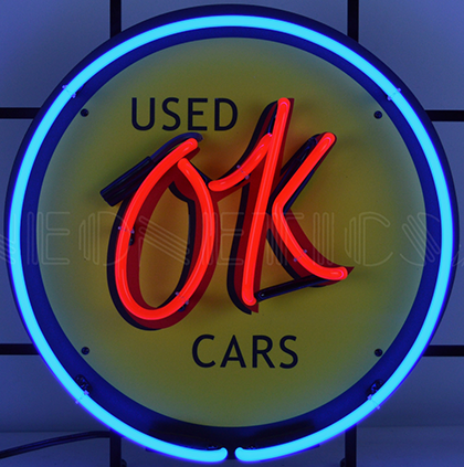Chevrolet Ok Used Cars Neon Sign Chevymall