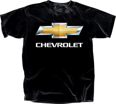 Chevrolet Bowtie Black T Shirt Chevymall