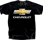 Chevrolet Bowtie Black T-Shirt