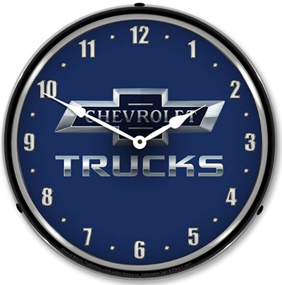 Chevy Trucks Centennial Wall Clock Chevymall