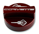 c7 corvette oil fill cap cover (color matched, choose logo)