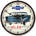 Bel Air Nomad Lighted Wall Clock