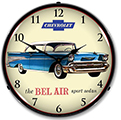 Bel Air Lighted Wall Clock