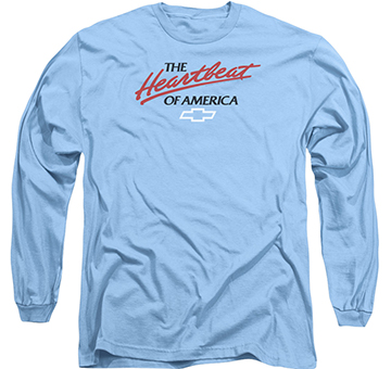 Chevrolet Heartbeat Long Sleeve T Shirt Chevymall