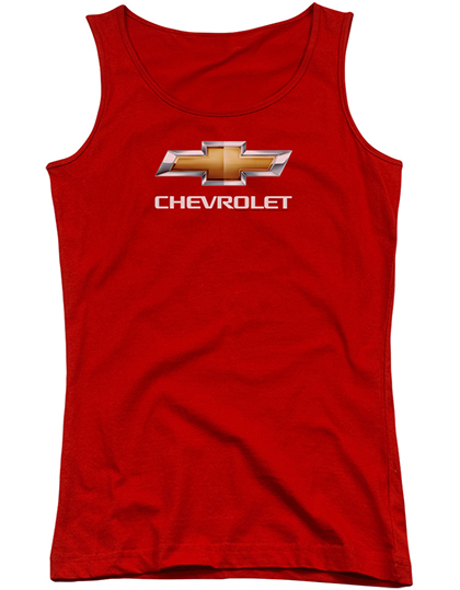 Chevrolet Ladies Red Tank Top Chevymall