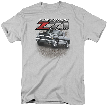 Silverado Z71 Off Road T-Shirt-ChevyMall