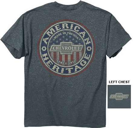 Chevy Colorado Accessories >> Chevrolet American Heritage T-Shirt-ChevyMall