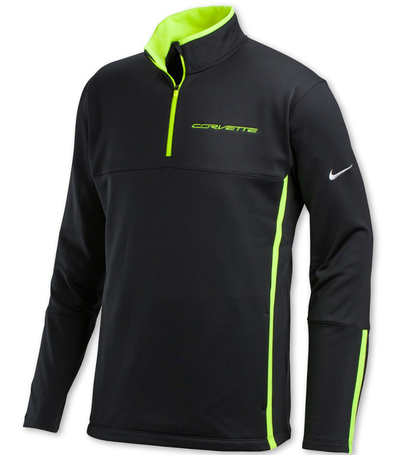 corvette nike therma fit pullover shirt chevymall