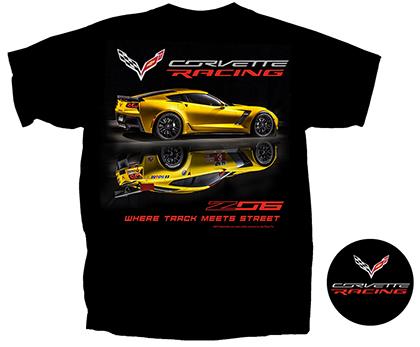 Z06 C7 Corvette Racing T-Shirt-ChevyMall