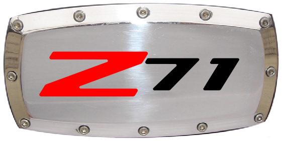 Chevrolet Z71 Outline Hitch Cover-ChevyMall