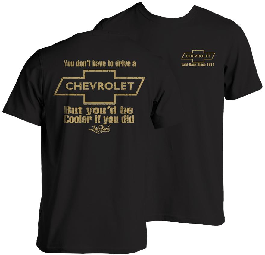 Chevrolet Cooler T Shirt Chevymall