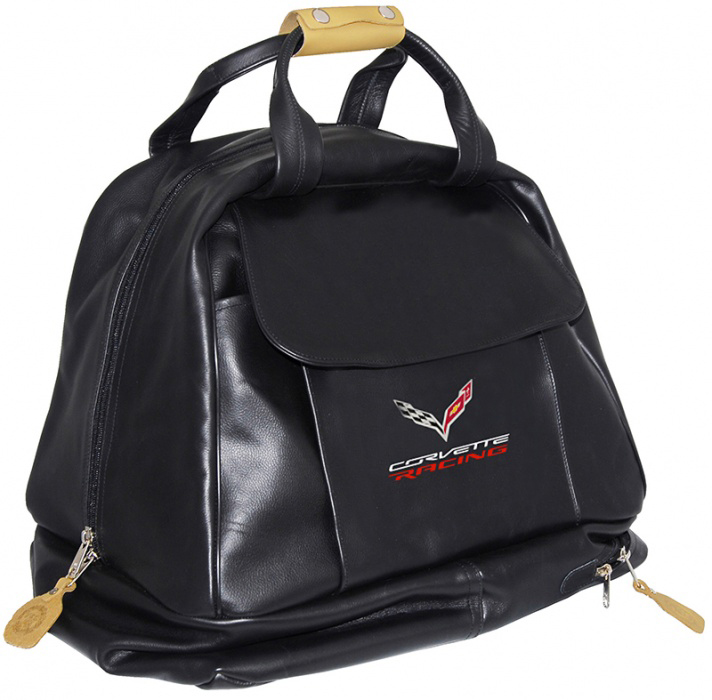C7 Corvette Racing Leather Carrying Bag-ChevyMall
