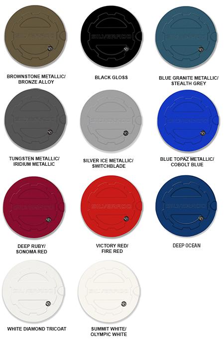 2017 Silverado Colors >> 2014 2018 Silverado Locking Fuel Door Choose Color