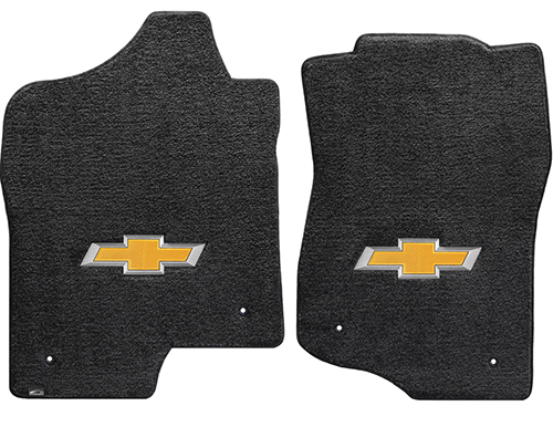 2017 Traverse Floor Mats For Models With 2nd Row Captain Seats