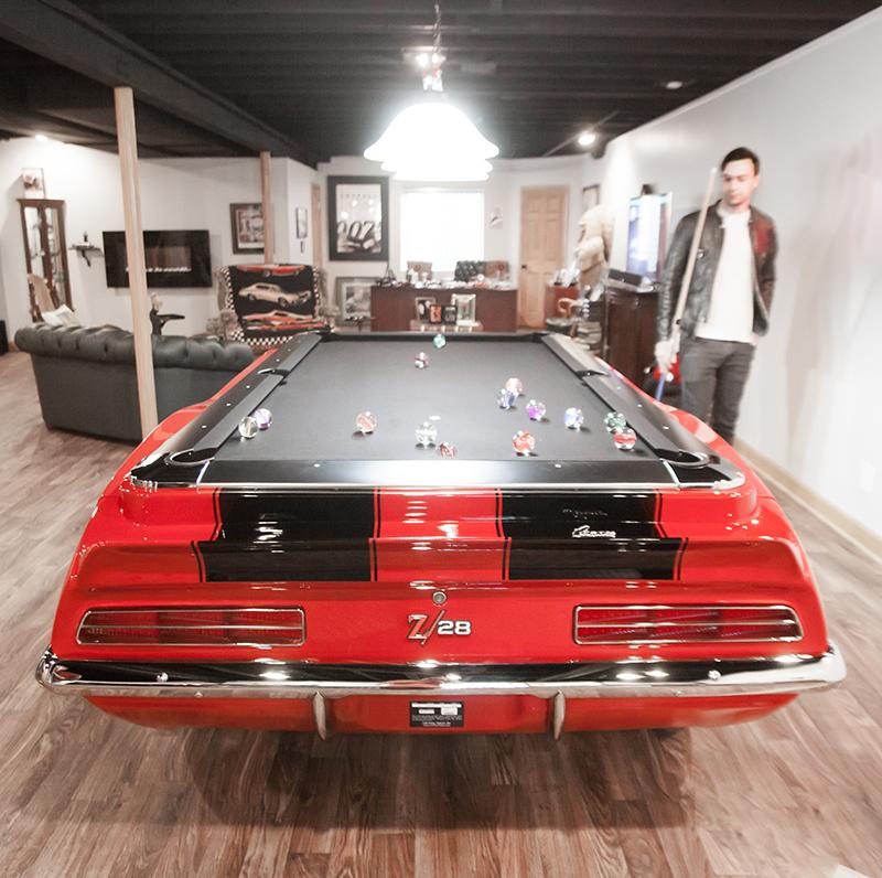 1969 Camaro Collectors Edition Pool Table-ChevyMall