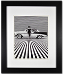 Bel Air 1956 Sport Coupe Historical Framed Print